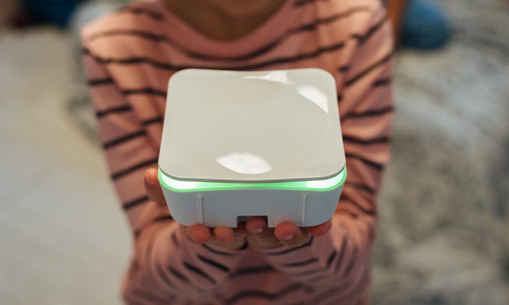 acer air monitor pour analyser la qualit de l 39 air la maison. Black Bedroom Furniture Sets. Home Design Ideas