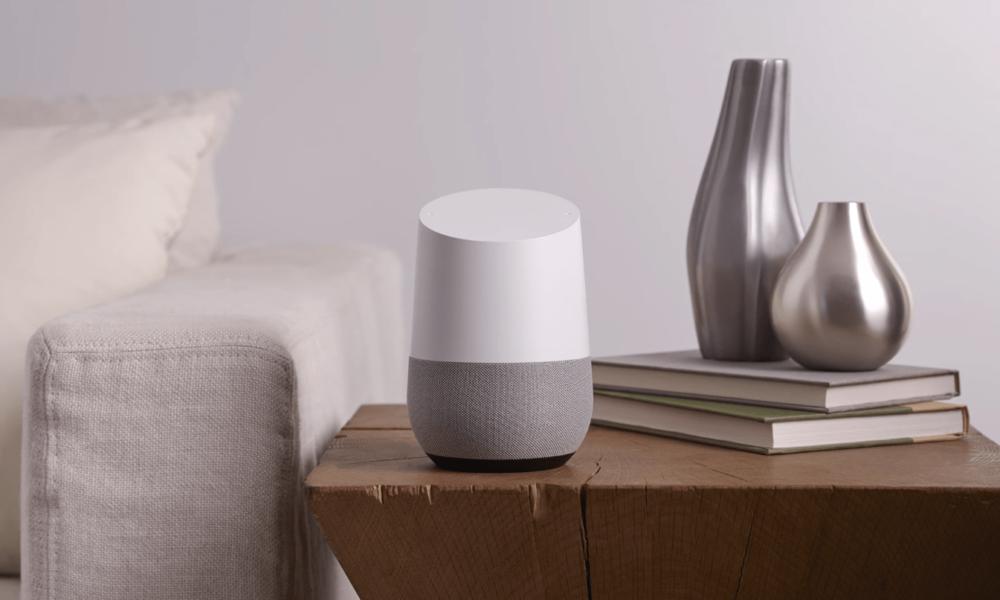 test du google home un assistant la maison. Black Bedroom Furniture Sets. Home Design Ideas